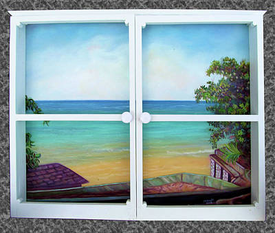 Painting - Outlook by Ewan McAnuff