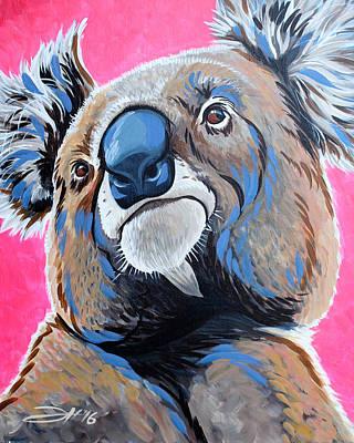 Painting - Over Koalafied by Joshua Hendry