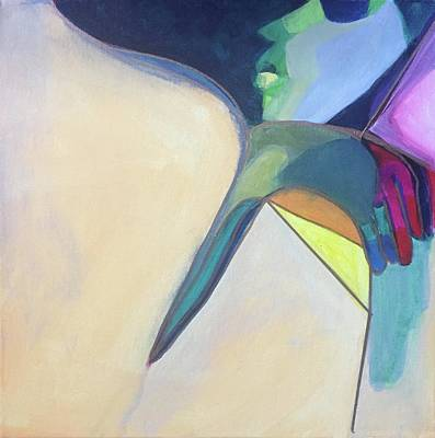 Painting - Over The Shoulder by Cherylene Henderson
