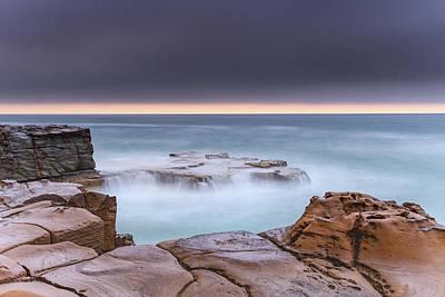 Photograph - Overcast Coastal Seascape by Merrillie Redden