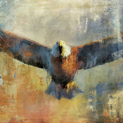 Painting - Overhead by Jai Johnson