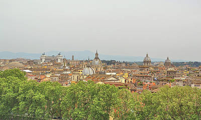 Photograph - Overlooking Rome by JAMART Photography