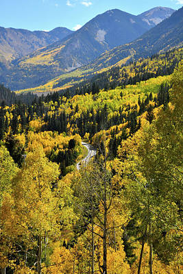 Photograph - Overlooking The Fall Colors Along The Road To Marble by Ray Mathis