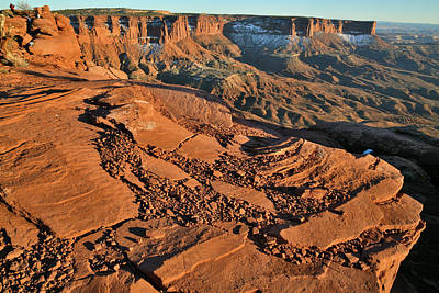 Photograph - Overlooking The Island In The Sky In Canyonlands Np by Ray Mathis