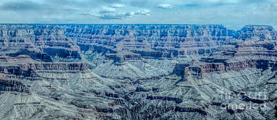 Photograph - Overview Grand Canyon II  by Chuck Kuhn