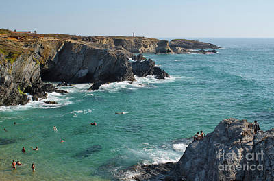 Photograph - Overview Of Porto Covo Beach by Angelo DeVal