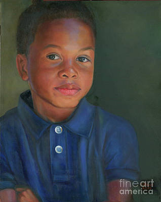 Painting - Owen by Marlene Book