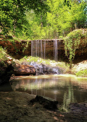 Photograph - Owens Creek Falls by Susan Rissi Tregoning