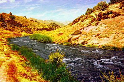 Photograph - Owens River Valley by Glenn McCarthy Art and Photography