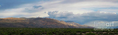 Photograph - Owens Valley Panorama  by Michael Ver Sprill