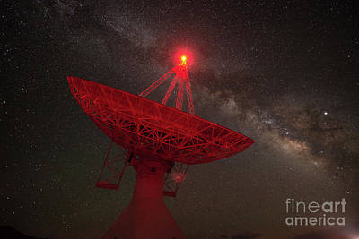 Photograph - Owens Valley Radio Observatory by Michael Ver Sprill