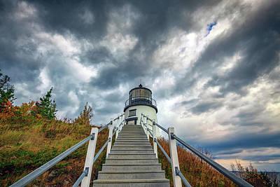 Photograph - Owls Head Lighthouse by Rick Berk