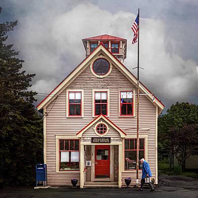 Photograph - Owls Head Post Office by Caroline Jensen