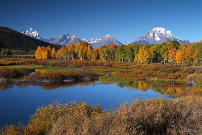Photograph - Ox Box Bend, Grand Teton Np by Bob Winsett