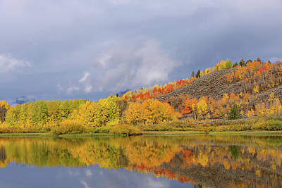 Photograph - Oxbow Autumn On The Snake River  by Kathleen Bishop