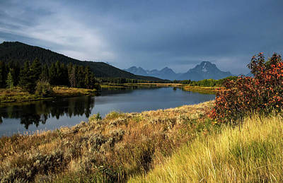 Photograph - Oxbow Bend by Linda Shannon Morgan