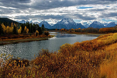 Photograph - Oxbow Bend by Scott Read
