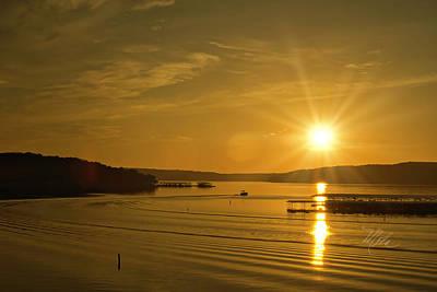 Photograph - Ozark Sunrise by Meta Gatschenberger