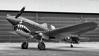 Photograph - P40 Warhawk  by Chris Buff