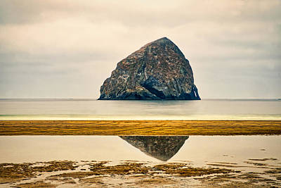 Photograph - Pacific City Haystack Rock - Oregon by Stuart Litoff