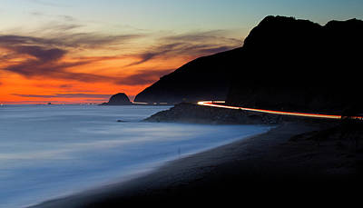 Photograph - Pacific Coast Highway by John Rodrigues