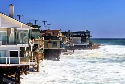 Photograph - Pacific Coast Living In Malibu by John Rizzuto