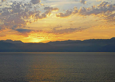 Photograph - Pacific Ocean Mexican Sunrise by Emmy Marie Vickers