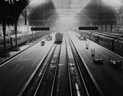 Photograph - Paddington Station by A. R. Coster