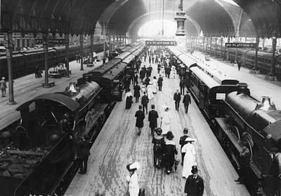 Photograph - Paddington Station by Hulton Archive