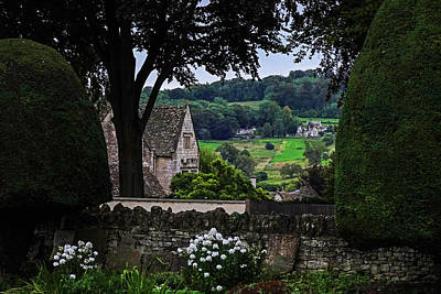 Photograph - Painswick Uk Cotswolds Rolling Field by Toby McGuire
