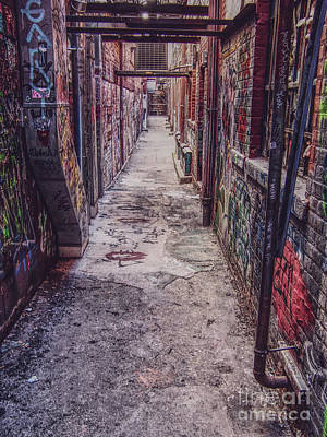 Photograph - Painted Alley by Phil Perkins