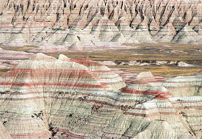 Photograph - Painted Badlands by Todd Klassy