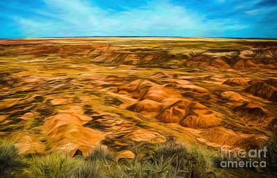 Photograph - Painted Desert Far View by Jon Burch Photography