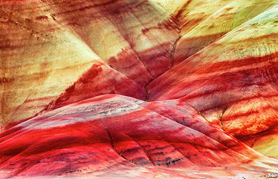 Photograph - Painted Hills  by Dee Browning