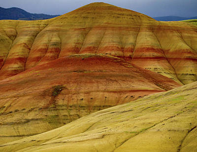 Photograph - Painted Hills Layers by Jean Noren