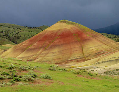 Photograph - Painted Hills Peak by Jean Noren