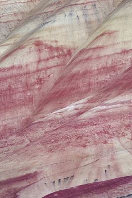 Photograph - Painted Hills Textures 1 by Leland D Howard