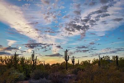 Photograph - Painted Skies In The Southwest  by Saija Lehtonen