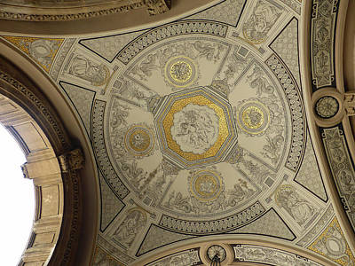 Mellow Yellow Rights Managed Images -  Painting on the ceiling at the Opera house  Royalty-Free Image by Vivida Photo PC