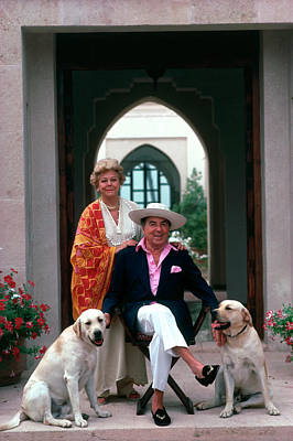 Photograph - Pair Of Pantz by Slim Aarons