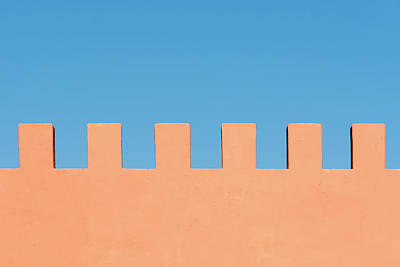 Photograph - Palace Battlements by Stuart Allen