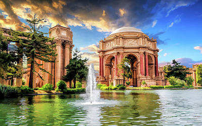 Painting - Palace Of Fine Arts by Christopher Arndt