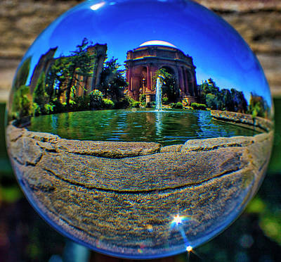 Photograph - Palace Of Fine Arts Sphere by Garry Gay