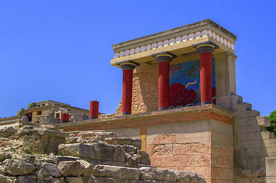 Photograph - Palace Of Minos by Sun Travels