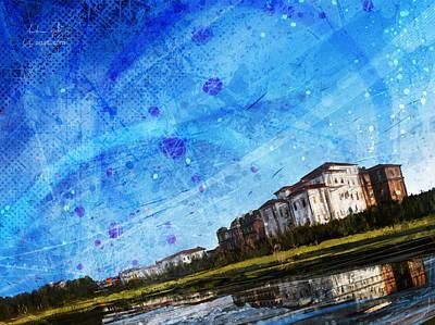 Surrealism Digital Art - Palace of Venaria by Andrea Gatti