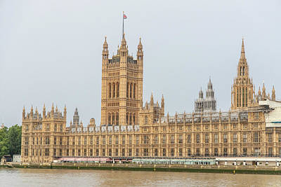 Photograph - Palace Of Westminster  by John McGraw