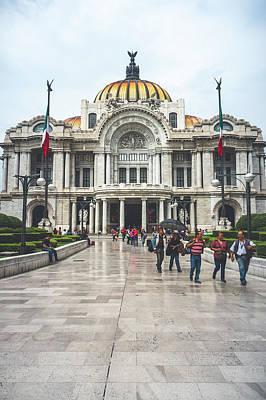 Photograph - Palacio De Bellas Artes Vintage by Tina Ernspiker