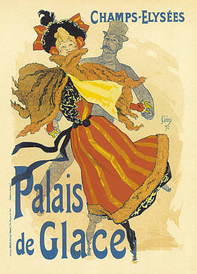 Painting - Palais De Glace Vintage French Advertising by Vintage French Advertising