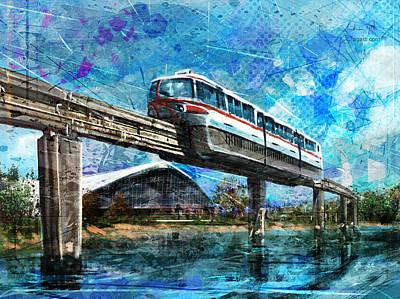 Surrealism Digital Art - Palavela by Andrea Gatti