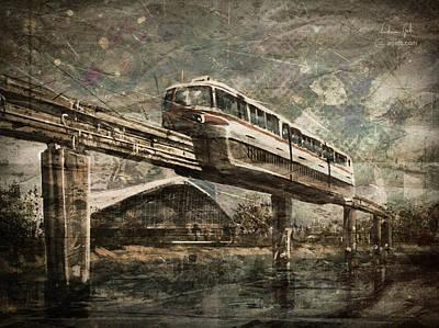 Surrealism Digital Art - Palavela61 by Andrea Gatti